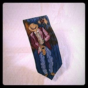 New Orleans Jazz necktie